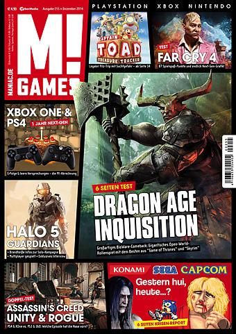 Alle in der M! Games Dezember 2014 getesteten Spiele günstig und garantiert unzensiert bei Gameware kaufen