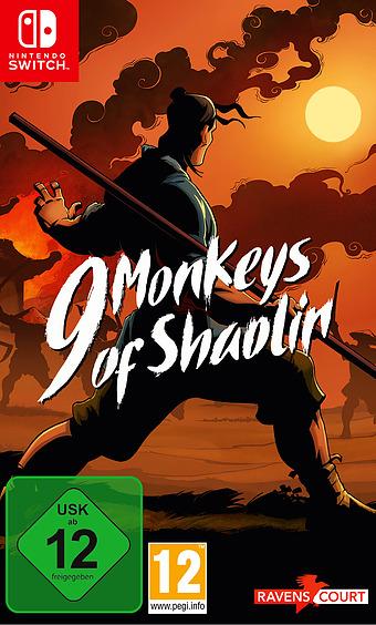 9 Monkeys of Shaolin Cover