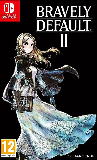 Bravely Default 2 Cover