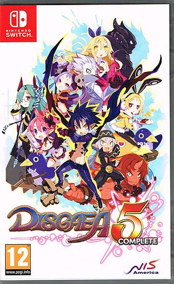 Disgaea 5 Complete AT-PEGI Cover