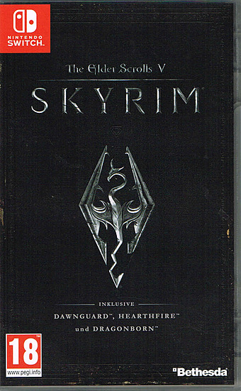 Elder Scrolls V: Skyrim Cover