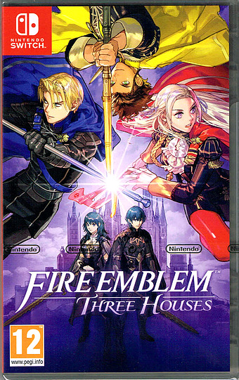 Fire Emblem: Three Houses Cover