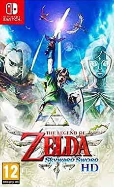 The Legend of Zelda Skyward Sword Cover