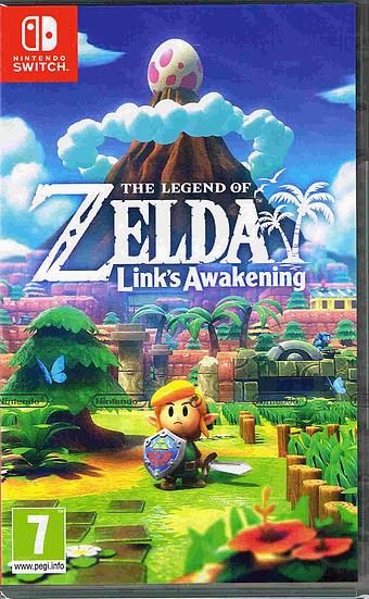 The Legend of Zelda: Link's Awakening Cover