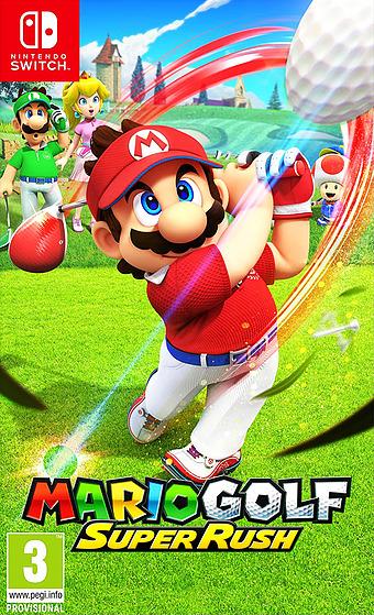 Mario Golf: Super Rush Cover