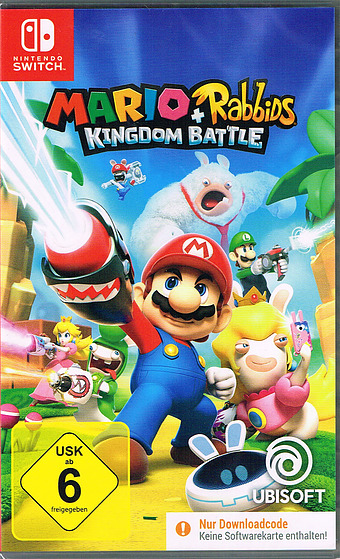 Mario + Rabbids Kingdom Battle Cover