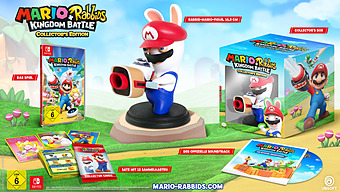 Mario + Rabbids Kingdom Battle CE Cover