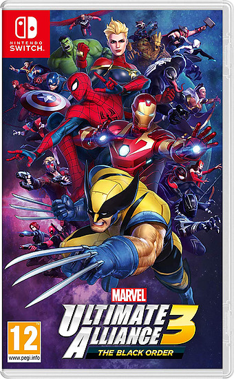 Marvel Ultimate Alliance 3: The Black Order Cover