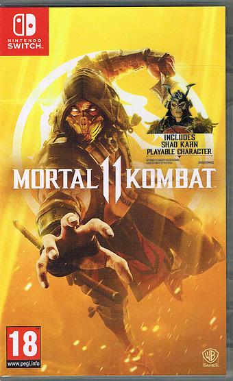 Mortal Kombat XI Cover