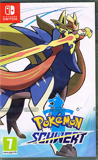 Pokémon Schwert Cover