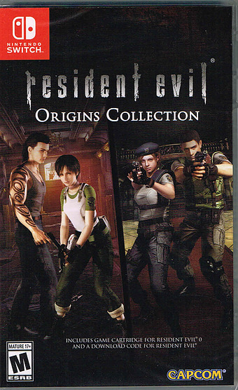 Resident Evil Origins Collection Cover
