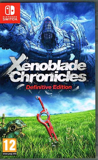 Xenoblade Chronicles Definitive Edition Cover