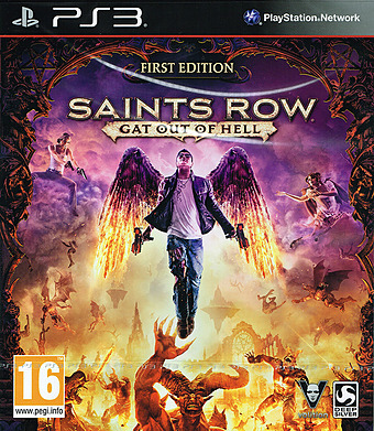 Saints Row - Gat out of Hell Cover
