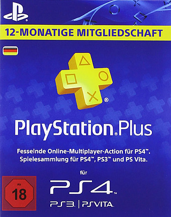 PlayStation Plus 365 Tage Cover