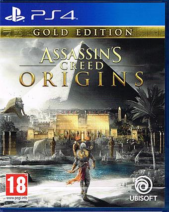 Assassin's Creed: Origins AT-PEGI Cover Packshot