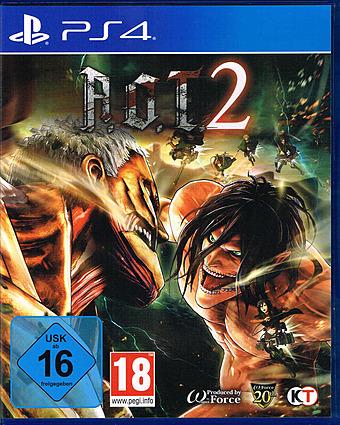 Attack on Titan 2 Cover