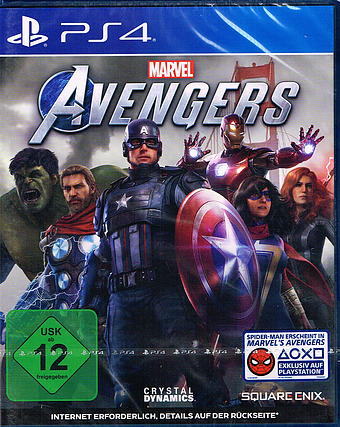 The Avengers Cover Packshot