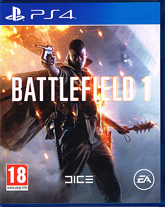 Battlefield 1 uncut AT-PEGI Cover Packshot