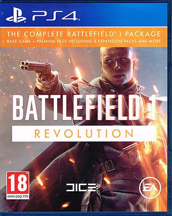Battlefield 1 Revolution Edition Cover