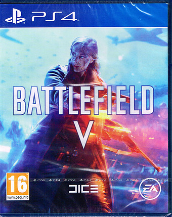 Battlefield V uncut AT-PEGI Cover Packshot