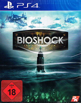 Bioshock: The Collection uncut AT-PEGI Cover