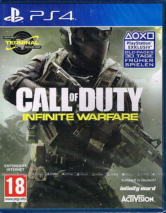 Call of Duty: Infinite Warfare uncut AT-PEGI Cover