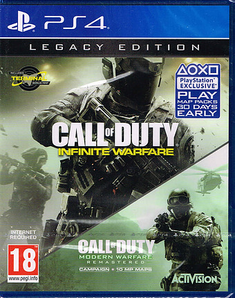 Call of Duty: Infinite Warfare  Cover