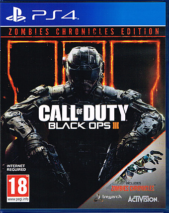 Call of Duty Black Ops 3: Zombie Chronicles Cover