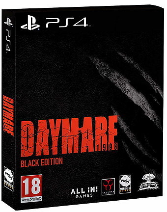 Daymare: 1998 Cover