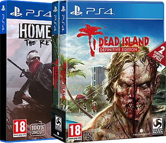Dead Island Definitive Edition & Homefront: The Revolution uncut AT-PEGI Cover