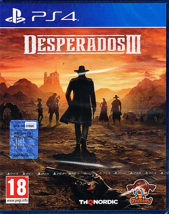 Desperados 3 Cover