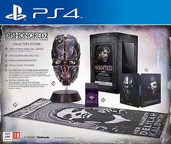 Dishonored 2 CE uncut AT-PEGI Cover