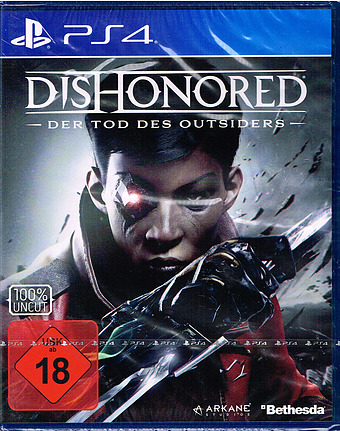 Dishonored: Der Tod des Outsiders Cover