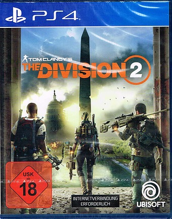 Tom Clancys The Division 2 Cover