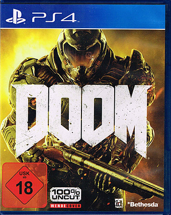 DOOM D1 Edition PEGI Cover