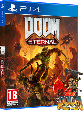 DOOM Eternal uncut AT-PEGI Cover Packshot