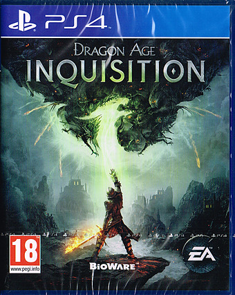 Dragon Age 3: Inquisition Cover