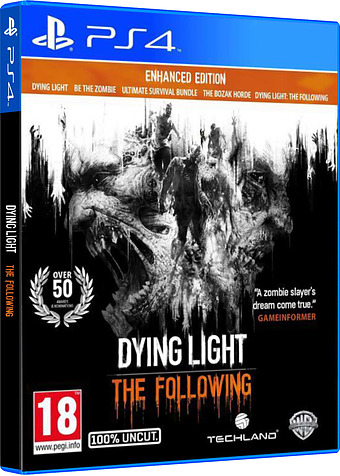 Dying Light: The Following Cover