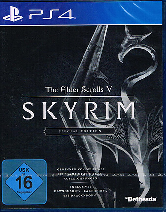 The Elder Scrolls V: Skyrim Special Edition uncut AT-PEGI Cover