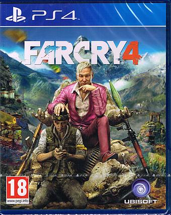 Far Cry 4 Cover Packshot