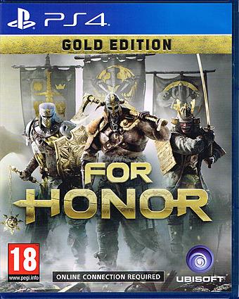 For Honor uncut AT-PEGI Cover