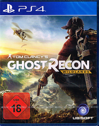 Tom Clancys Ghost Recon Wildlands Uncut AT-PEGI Cover