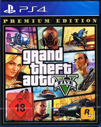 Grand Theft Auto V Premium Edition Cover