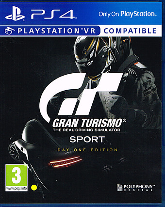 Gran Turismo Sport Cover