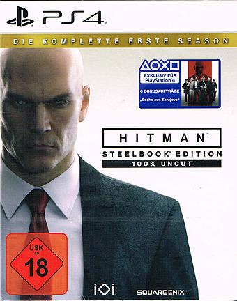 Hitman: Die komplette erste Season D1 Edition uncut Cover