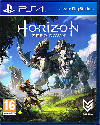 Horizon: Zero Dawn uncut PEGI Cover