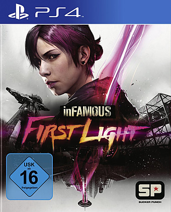 inFamous: First Light Cover Packshot