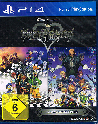 Kingdom Hearts HD 1.5 + 2.5 ReMIX Cover