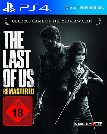 The Last of Us uncut PEGI Cover