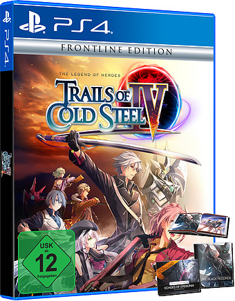 The Legend of Heroes: Trails of Cold Steel 4 Cover